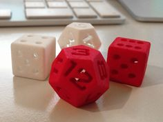One day I will own a 3-D printer. On that day I will also own all the dice.