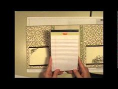 Suitable Holiday Planner Tutorial Part One STARTING AT 7:20 SHOWS HOW TO MAKE EXPANDABLE POCKETS