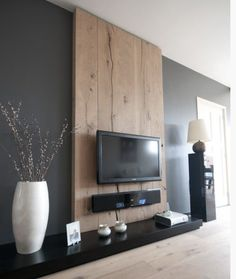 decoration salon; meuble tv