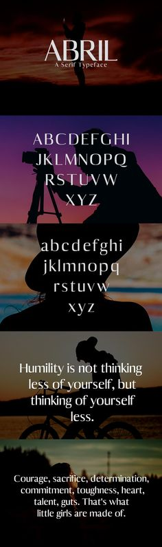 Free Abril Serif Demo Font is from our set of 7 Premium weights fonts and it is good for making creative displays and it is a modern serif. via @creativetacos