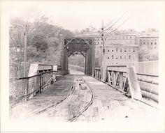 train trestle to old cotton mill - Tallassee, AL