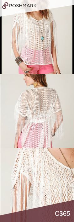 Free people New Romantics fringe top Free people New Romantics fringe top Free People Tops Blouses New Romantics, Plus Fashion, Fashion Tips, Fashion Trends, Top Free, Free People Tops, Blouses, Lace, Outfits