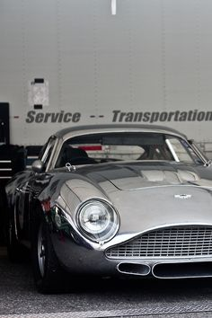 Aston Martin by Zagato. If Bond had a race car, this DB4 GTZ would not doubt be his choice.