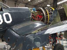 Motor Corsair F4U 1