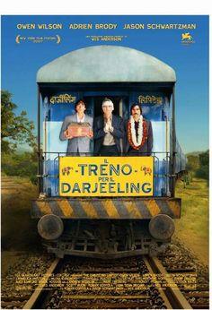 Il treno per il Darjeeling - 20th Century Fox.  Un treno in un'India non patinata ed un viaggio improbabile (ed a suo modo prezioso) di tre uomini con la loro eccentrica fragilità