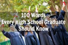 100 Words for High School Students