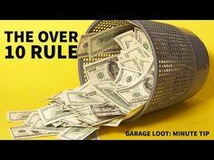 (27) Garage Sale Tips: Over 10 Rule - YouTube