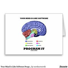Your mind is like software program it brain business cards your mind is like software program it brain business cards psychology business cards pinterest business cards software and brain reheart Choice Image