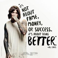 Oli Sykes Quote