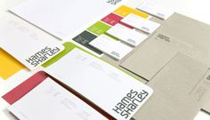 Brand Identity Hames Sharley from Axiom Design Partners