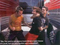 Tre Cool V Blink-182