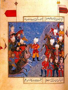 Şūkrī-i Bitlisī Selīm-nāma - The Battle of Chaldiran