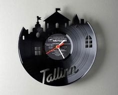 Change your Vinyl Record into Cool Clock!