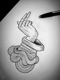 Hand ➵ Instagram: tomapegaz