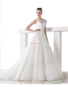 Hall A-vonalú Ragyog & Csillog Menyasszonyi ruhák 2015