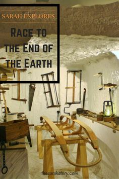 """I am just going outside and I may be some time.""  The race to the end of the earth..."