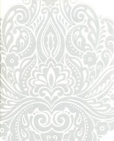 bottom wallpaper, top of walls gray = dining room! curtains to match/accent color red or yellow