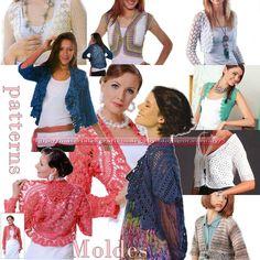 Sensacionales patrones de prendas accesorias para lograr combinaciones increìbles entre tejido y gènero   Clothing accessory sensational pat...