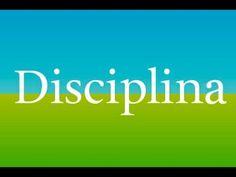 ¿CÓMO DEBE APLICARSE LA DISCIPLINA EN LAS IGLESIAS?.