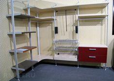 Гардеробные системы хранения: гардеробная комната своими руками