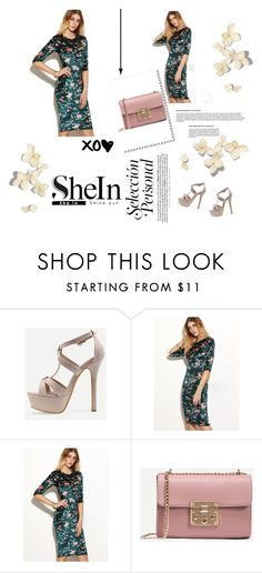 """shein"" by ladygagamonster ❤ liked on Polyvore"