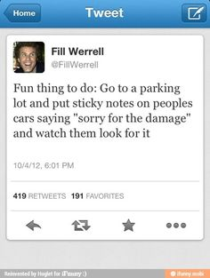 I DID THIS WITH MY BROTHERS ONCE!!  It was the funniest thing ever!!