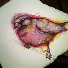 I would love this rustic water colour style for my tattoo