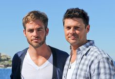 Karl Urban & Chris Pine. SubCategory A: *Dying Aroused Whale Noises* SubCategory B: I Loathe You Both SO Damn Much Right At This Moment. SubCategory C: I Want To Go To There.