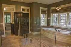 Craftsman Master Bathroom - Find more amazing designs on Zillow Digs!