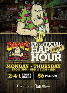 Las Vegas Restaurant - Dick's Last Resort at Excalibur