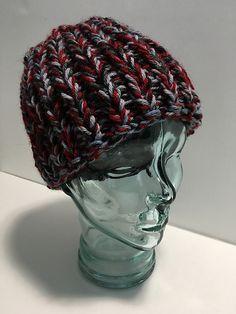 ef7df6d58f Ravelry  True Scrap Hat pattern by SSK Yarners Knitting For Beginners