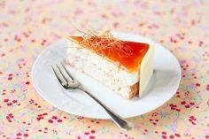 Verdade de sabor: Rice cake with caramel / Torta de arroz com caramelo With English translation.