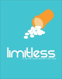 "Minimalist Movie Poster |  ""Limitless"" (2011)"