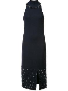 JONATHAN SIMKHAI embellished sleeveless dress. #jonathansimkhai #cloth #드레스