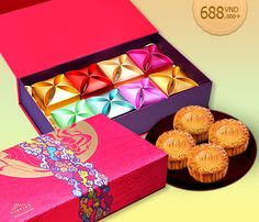 Mid-Autumn Festival Mooncakes from Windsor Plaza Hotel. Box 688-8