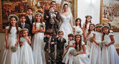 Criançada após a cerimônia. #kids #wedding