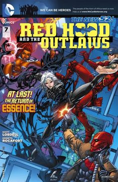 Red Hood and the Outlaws #7 #RedHoodAndTheOutlaws #New52 #DC