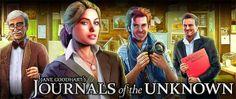 Journals of the Unknown conta a história de Jane Goodhart, uma jornalista que investiga intrigantes mistérios.