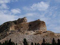 Crazy Horse Monument under construction near Custer, SD