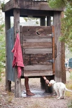 Outdoor shower! by Nicole Bertrand-Gendron