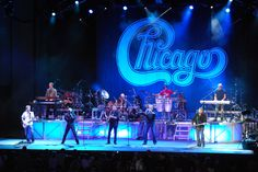 Chicago in concert (Photo by Peter S. Sakas DVM)