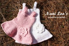 Ravelry: Project Gallery for Siena Dress - Baby girl dress pattern by Shanti Ordoñez