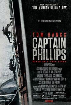 盜海狙擊/怒海劫(Captain Phillips)AA poster