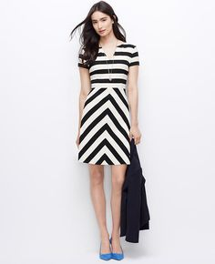 Black and White, Striped to Flatter.