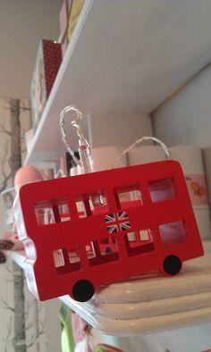 london bus battery powered led lights!! What little boy wouldn't love this...