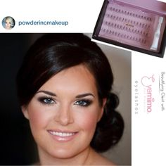 Wedding makeup: Ideal bridal look - love the make-up (smokey eye, rosey cheeks & a nude pink lip) and the hair (right colour, very sleek & polished, ...