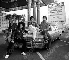 Queen at Aladdin hotel and casino, Las Vegas