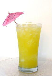 Pineapple Lime Agua Fresca
