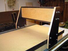 Homebuilt CNC Router #2: Simpler, Stronger, Prettier - by SPalm @ LumberJocks.com ~ woodworking community