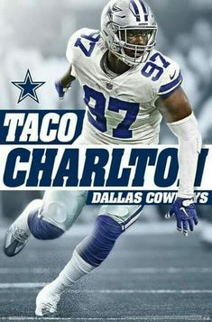 d724c271dd4 98 Best TACO CHARLTON images in 2019 | Taco charlton, Cowboys ...